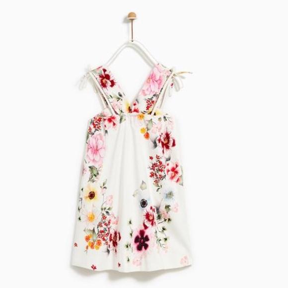8b45c365 Zara Dresses | Kids Floral Dress Nwt | Poshmark